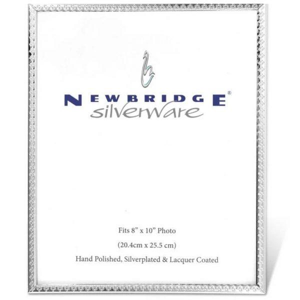 Newbridge Silverware Decorative Edge Frame 8X10 (PG121810)