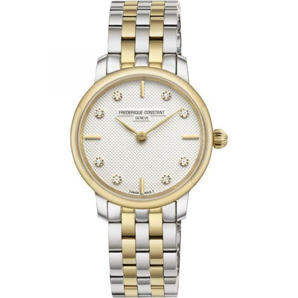 Frederique Constant Slimline Ladies Watch (FC-200STDS3B)