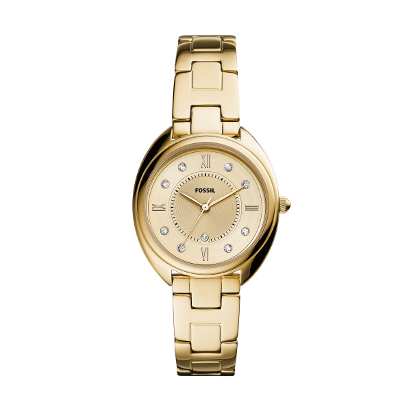 Fossil Gabby Gold-Tone Stainless Steel Watch (ES5071)