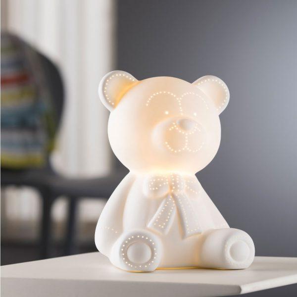 Belleek Living Teddy Bear Luminaire (7922)