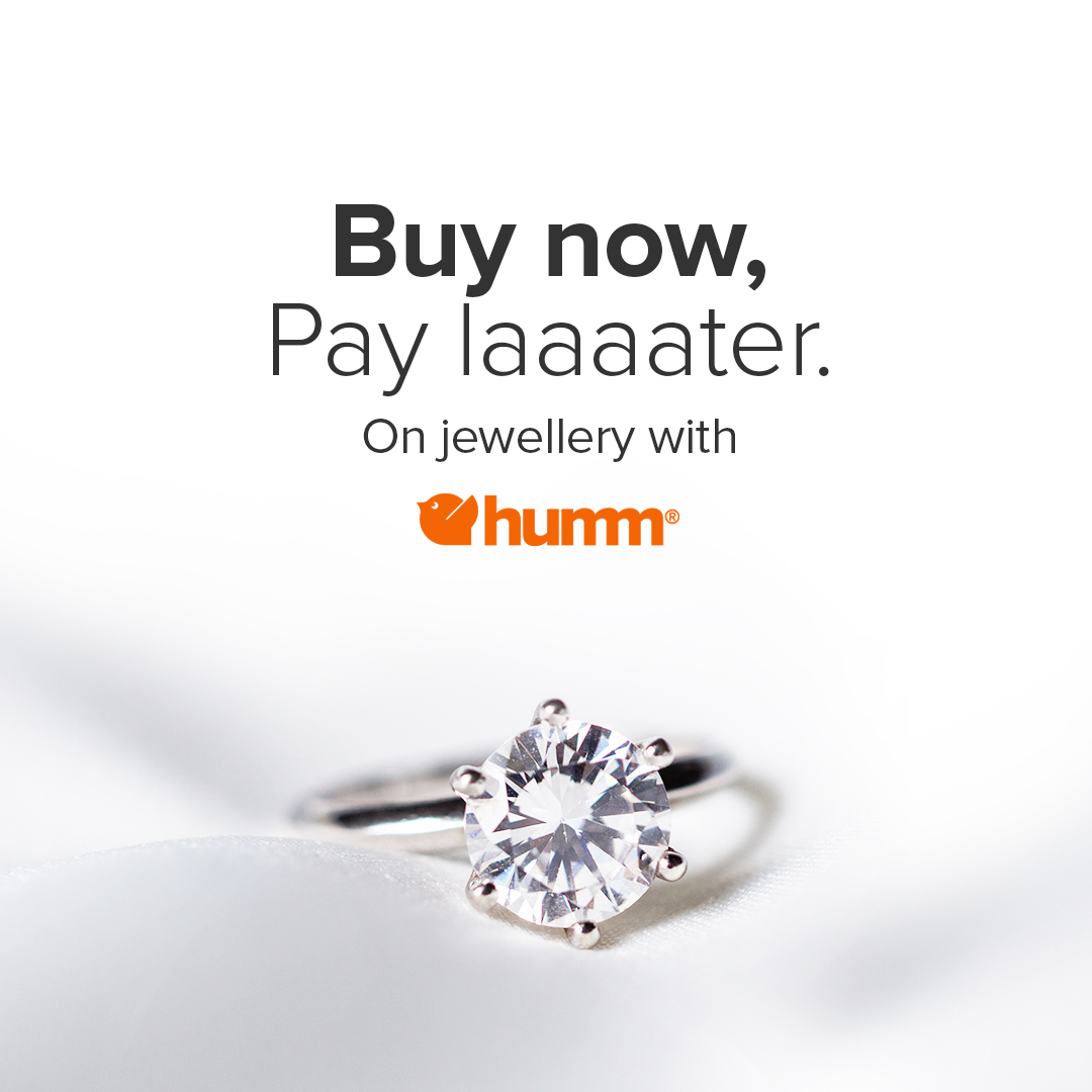 Buy no, Pay later on Jewellery with Humm