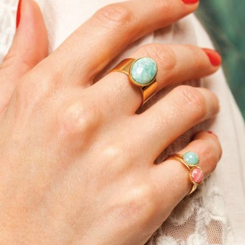 Nilai Paris Athena Ring - Mother of Pearl (ATBA-MOP)