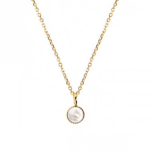 Nilai Paris Athena Necklace - Mother of Pearl (ATC-MOP)