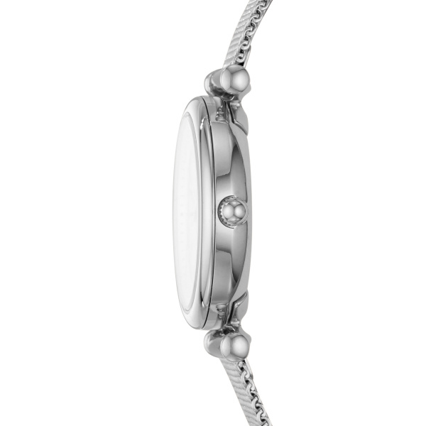 Fossil Carlie Mini Three-Hand Stainless Steel Watch (ES4432)