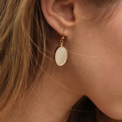 Nilai Paris Frida Earrings - Amazonite (FRIBO-A)