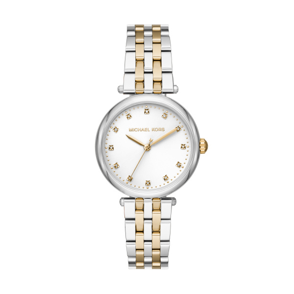 Michael Kors Diamond Darci Two-Tone Stainless Steel Watch (MK4569)