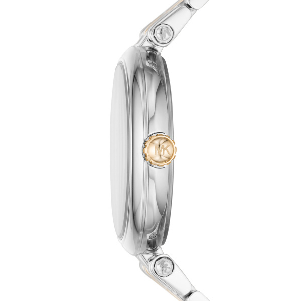 Michael Kors Diamond Darci Two-Tone Stainless Steel Watch (MK4569)