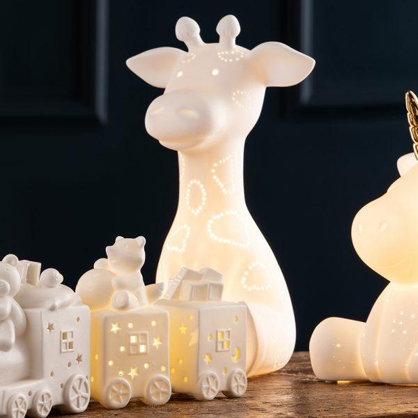 Belleek Living Giraffe Luminaire (9347)