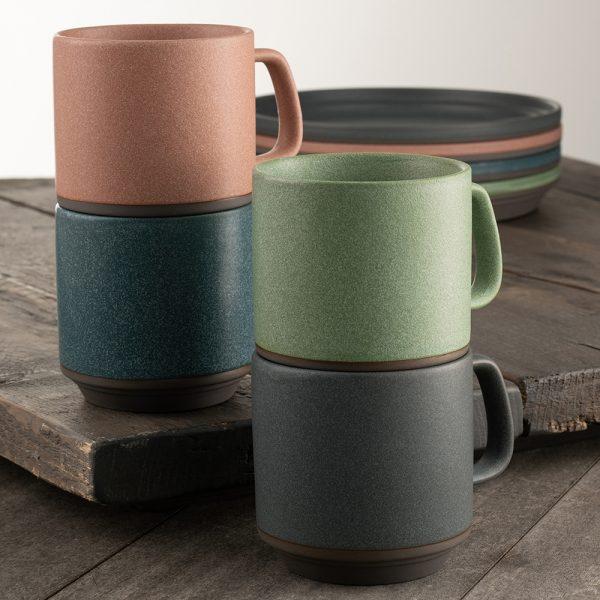 Belleek Living Tsuma Stacking Mugs - Set of 4 (9401)
