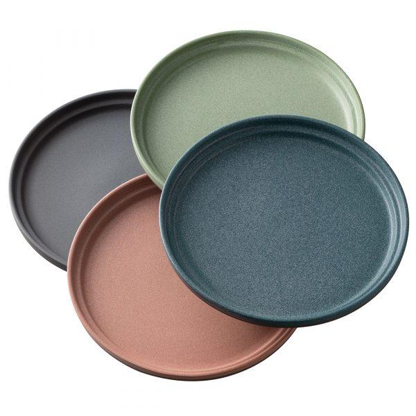 Belleek Living Tsuma Stacking Small Plate - Set of 4 (9402)