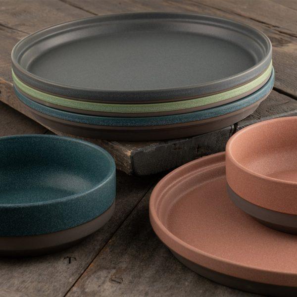 Belleek Living Tsuma Stacking Large Plate - Set of 4 (9403)