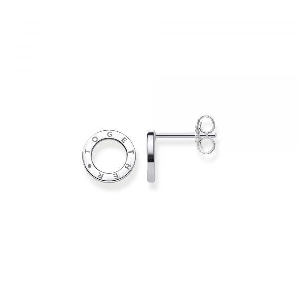 Thomas Sabo 'Together' Circle Ear Studs (H1964-001-12)
