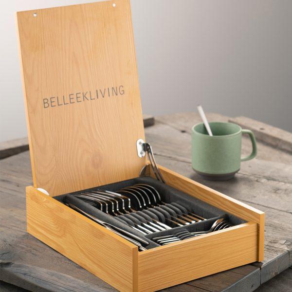 Belleek Living Reflection 24 Piece Cutlery Set (8962)