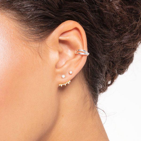 Thomas Sabo Single Ear Cuff with Double Strand (EC0024-001-21)