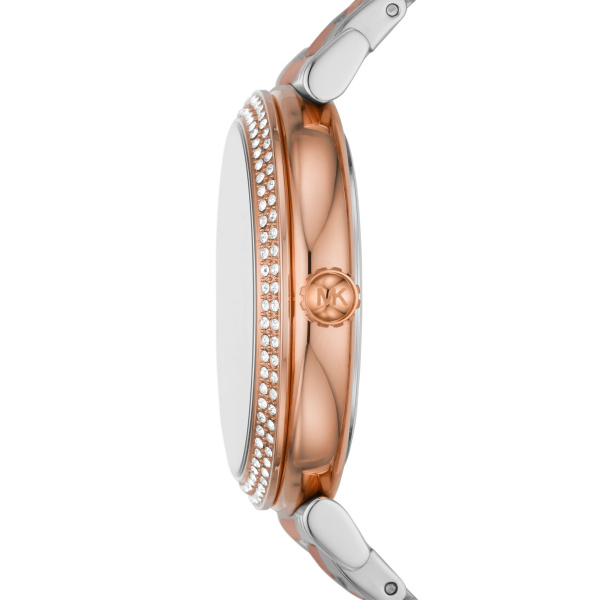 Michael Kors Abbey Two-Tone Stainless Steel Watch (MK4616)