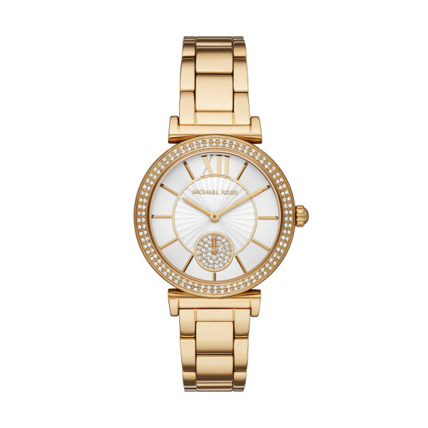 Michael Kors Abbey Gold-Tone Stainless Steel Watch (MK4615)