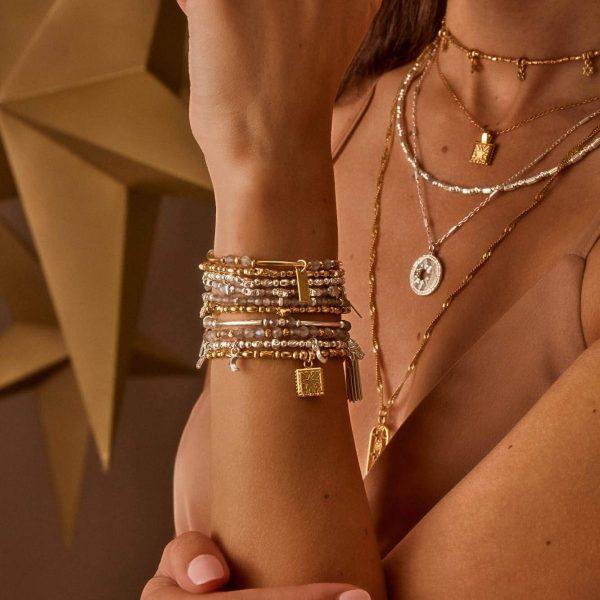 ChloBo Celestial Wonderer Bracelet in Gold (GBTR3188)