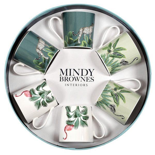 Mindy Brownes Daintree Cups Set/6 (SHM001)