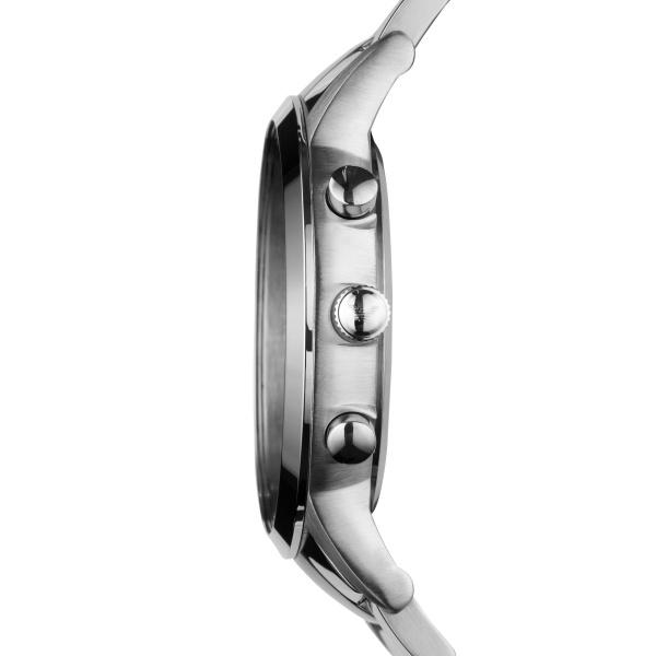 Emporio Armani Renato Grey Quartz Watch Blue Dial (AR2448)