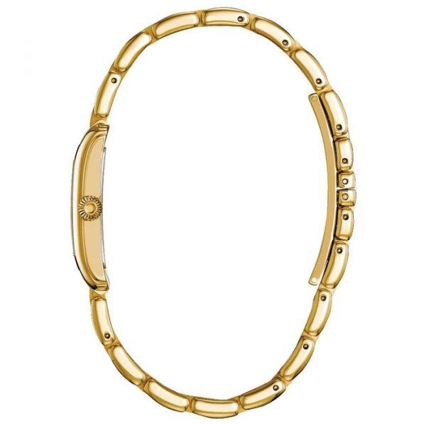 Frederique Constant Classics Carée Gold Ladies Watch (FC200MCDC15B)