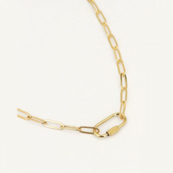 Nilai Paris Lock Necklace (LOCC)