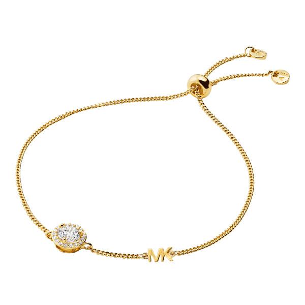 Michael Kors Gold-Plated Sterling Silver Slider Bracelet (MKC1206AN710)